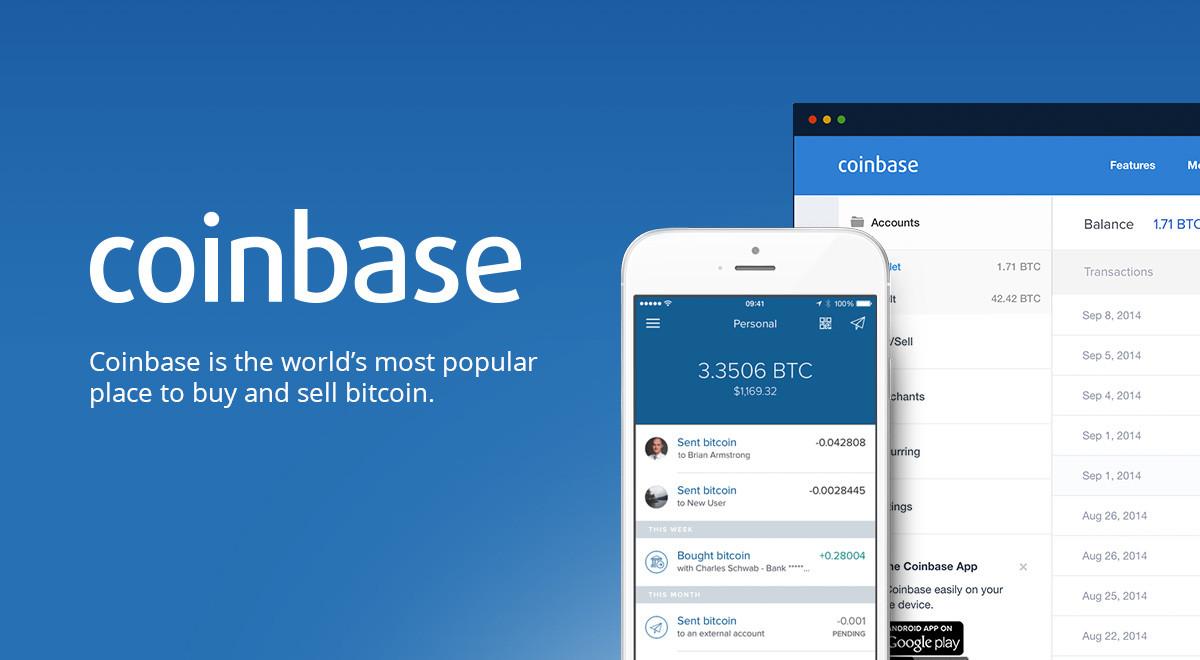 Coinbase.com - populárna kryptopeňaženka