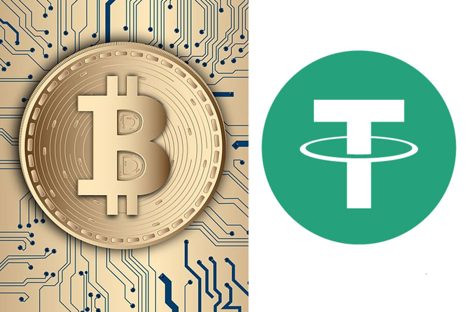 Bitcoin vs. Tether (USDT)