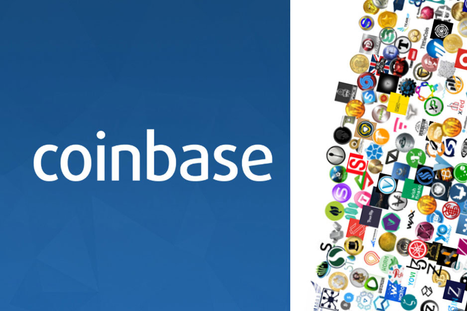 Coinbase - kryptomeny