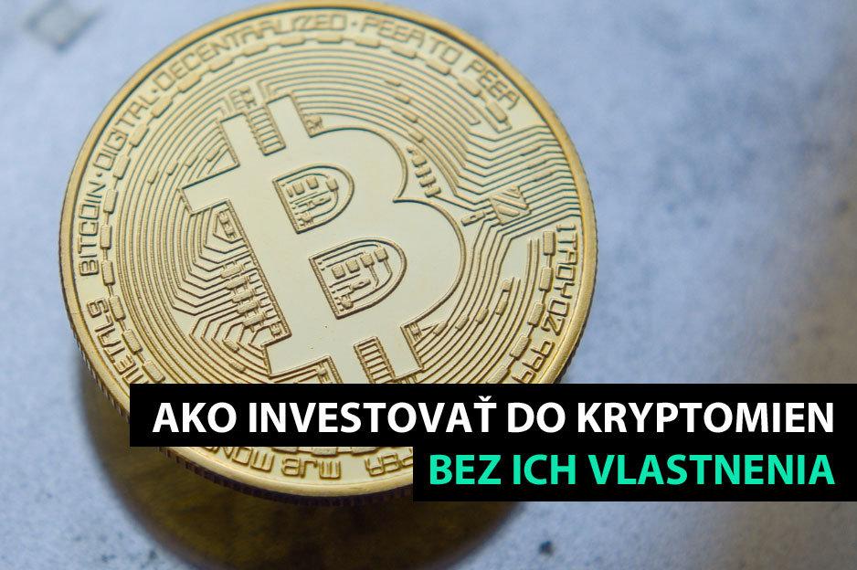 Investovanie do kryptomien cez brokerov