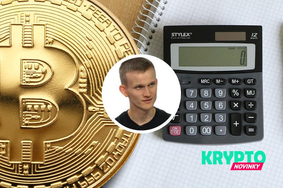 Vitalik Buterin Bitcoin kalkulačka