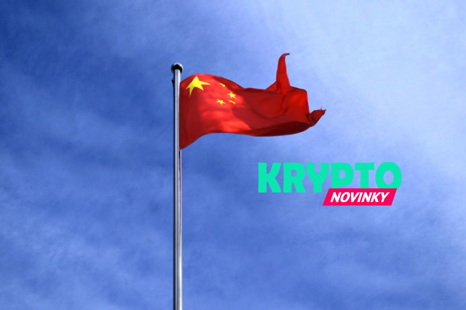 Čína vlajka