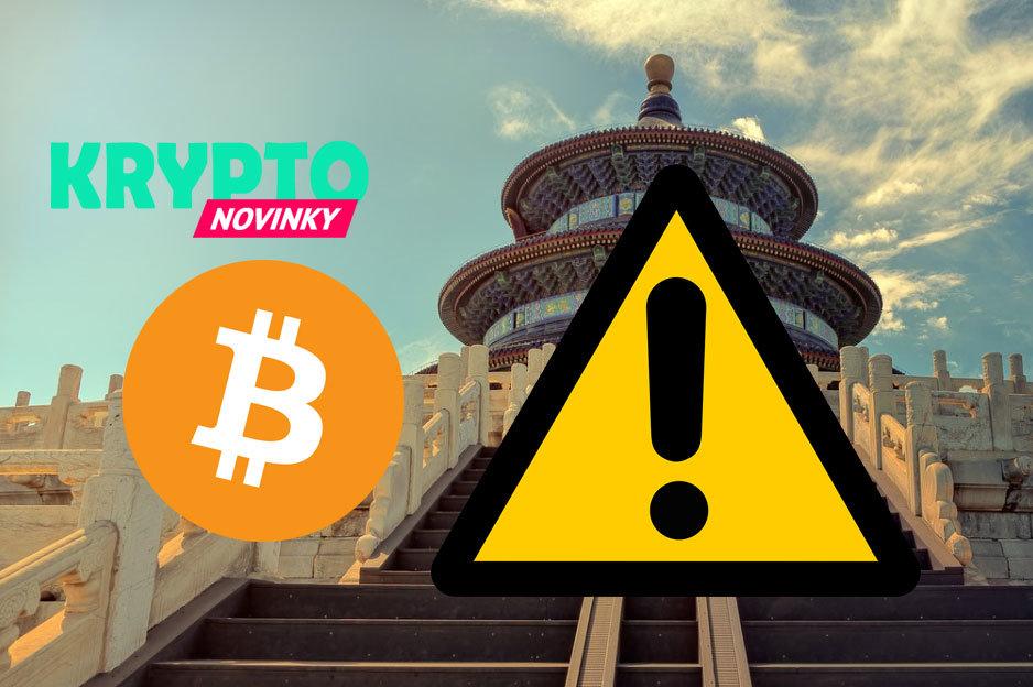 Bitcoin Čína Pozor