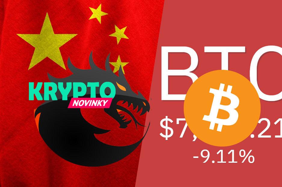 Bitcoin Čína