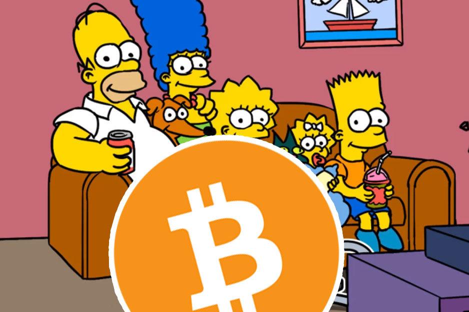 Bitcoin Simpsonovci
